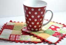 Quilt Mug Rugs,etc / by M b