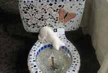 mosaicos / para jardins ou decoração de casa / by Damiria Machado