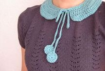 Knit & Crochet - Clothing, Accessories / Crochet and knitting patterns and inspiration - blouses, scarves, hats, gloves, mittens, shrugs, skirts, dresses, socks, slippers,  belts etc. / by Elena