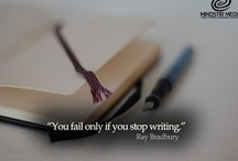 Quotes / Some great quotes pertaining to writers, writing, and reading. / by MindStir Media