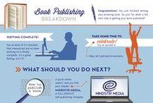 Book publishing info / Self-publishing services   MindStir Media / by MindStir Media