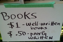 Funny Stuff about Reading/Writing / Jokes and funny images about writers and bookworms!  / by MindStir Media