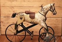 Love Old Toy & Antique Horses / Love old antique or toy horses of any kind! Love to see them in a home décor. / by Renee Sterner