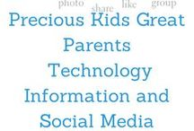 PKGP Technology, Information and Social Media / All about the technology and information in running a website. / by Precious Kids Great Parents