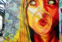 L'art urbain...(Street art). / by Susana Merlo de Novillo