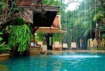 DECO (indoor/outdoor fountains and pools)... / by Susana Merlo de Novillo