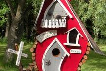 Brilliant Birdhouses / You'd never guess birdhouses could be made like this. These birdhouses are so clever you'll want to live in one too! / by JAM Paper