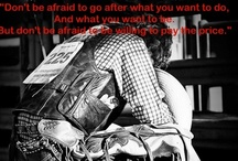 Quotes / by Darby Woffinden
