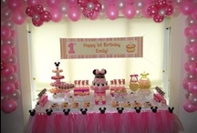 Minnie Mouse Party Ideas / by Scarlett A. Rivera