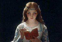 Books and Readers / Readers, libraries, art works.    / by Winnie Flynn