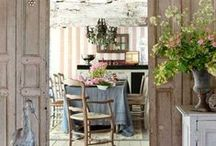 Country French Decor / I love Country French and have decorated my home in this style, using mostly neutral colors with a mix of different accent pieces.  I am always looking for new ideas to update my home and enjoy getting those ideas on Pinterest!  / by Barbara Pepio