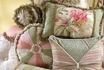 Pillows - Cushions / by Deborah Conetta- Aiken