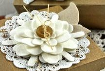 Crafty Things: Flowers/Pinwheels/Rosettes / by Shirley Rayner