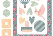 Scrapbook papers, patterns & Embellishments / by Paula Tiscornia
