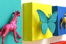 Kids Crafts with Repurposed Items / by Jessica Whitehouse