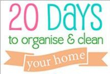HOME Cleaning & Organizing / Home Solutions for Cleaning & Organizing the home; tips and tricks inside the home to get you organized. -   Related Boards you may like: * Home DIY Decor * Garden: Homemade solutions for outdoors * HOME: Lists, Printables & Templates for Organization * HOME Kitchen & Organizing / by Christine Sinclair