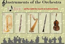 Music Ed: Instruments / For anything instrumental... / by Dave Verno
