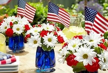 ☆ RED • WHITE • BLUE ☆ / **Americana*** / by Bonnie Short