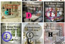 A-Z Home Decor Trends 2014 / by Alice T. Chan Design