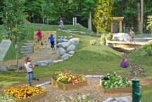 Natural Playground Ideas / Low-cost design Ideas for a natural playground that is accessible and safe for our new daycare center. / by Tipton Adaptive Daycare LLC