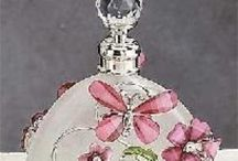 Perfume Bottles / by Marian Rebergen
