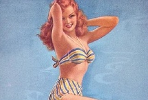 Pin-Up / Beautiful and sexy pin-up images / by Sketchy Marie