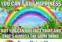 Quotes to inspire face painters  / Inspirational quotes for face painters / by The Face Painting School