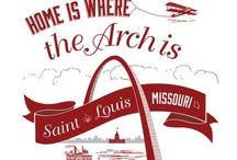 St. Louis Then & Now / St. Louis & North County landmarks past & present  / by Mike Pope