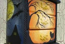 HOLIDAY HALLOWEEN DECORATIONS / by D Estrada