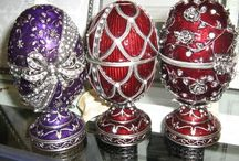 FABERGE/DECO EGGS/MUSIC BOXES / by D Estrada