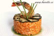 Arroces / Diferentes platos que podemos hacer con arroz, y algún ingrediente sencillo más / by Marta Fdiez