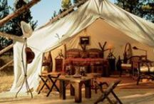 Glamping Honeymoons / Glamour + Camping = Glamping.  Camping? Yes. Roughing It? Not quite. You get it ... / by Inspired Destination Weddings