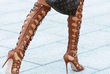 Heel + Obsession / We love a great heel. Enough said.  www.dressedupanddown.com / by Dressed Up + Down, LLC