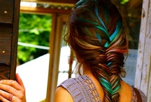 Hair...updos and how to's / Cool cuts and colors along with ways to braid and updo 