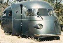 vintage trailers / by Kim Milburn
