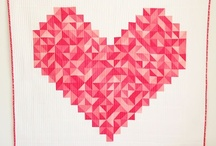 valentine quilts / because I love valentine's day, and I love quilts / by maritza soto