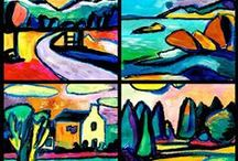 """""""KANDINSKY"""" Inspired Projects / by florence cometz"""