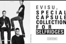 Welcome to the minimalism! / Welcome to the minimalism, EVISU special capsule collection for Selfridges – sparks the love of the streamlined & refined design! See more: http://bit.ly/Pj40qX / by EVISU official