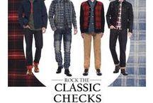 Rock The Classic Checks! / by EVISU official