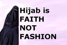 hijab / by arabic girl