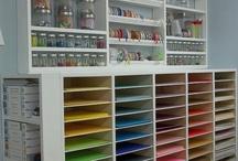 Craft Rooms & Storage / by Stuff4Crafts