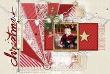 Scrapbooking ** Winter & Christmas / Scrapbook layout inspiration for the cold wintery season and for the Holiday season  / by Stuff4Crafts
