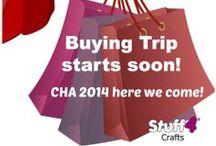 CHA 2014! / by Stuff4Crafts