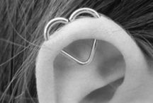 Piercings / If you're just going to repin my whole board, at least follow me / by Grace Sparrow