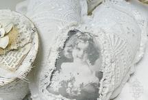 ♥ Fabric Hearts / by Zenobia Klitzke