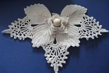 irish/ russian/ freeform crochet / by Cecilia Fektenberg