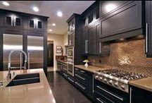 Kitchen Inspiration / Find variety of kitchen design ideas & innovations / by The Curtain Rod Shop