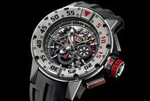 Richard Mille / The Richard Mille collection points resolutely towards the future, while holding steadfast to the time-honored traditions of fine watchmaking. All timepieces that bear the Richard Mille name are founded upon three crucial elements: the best in technical innovation, the best of artistry and architecture; and the best of the heritage and culture of fine watchmaking.  / by Manfredi Jewels