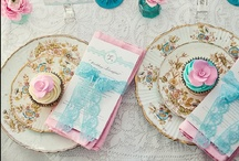 Aqua & Pale Pink / Love this whimsy color palette that I used for my wedding! / by All Things Pretty