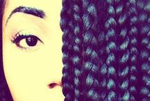 braids Braids BRAIDS!!! <3<3<3 / My secret braid addiction... I just can't get away. They add so much ease to my day and just out right look good on a sista! This is dedicated to versatility of braids. hope you enjoy ;-) / by Donisha Boswell